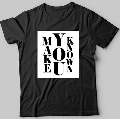 black box-style t-shirt