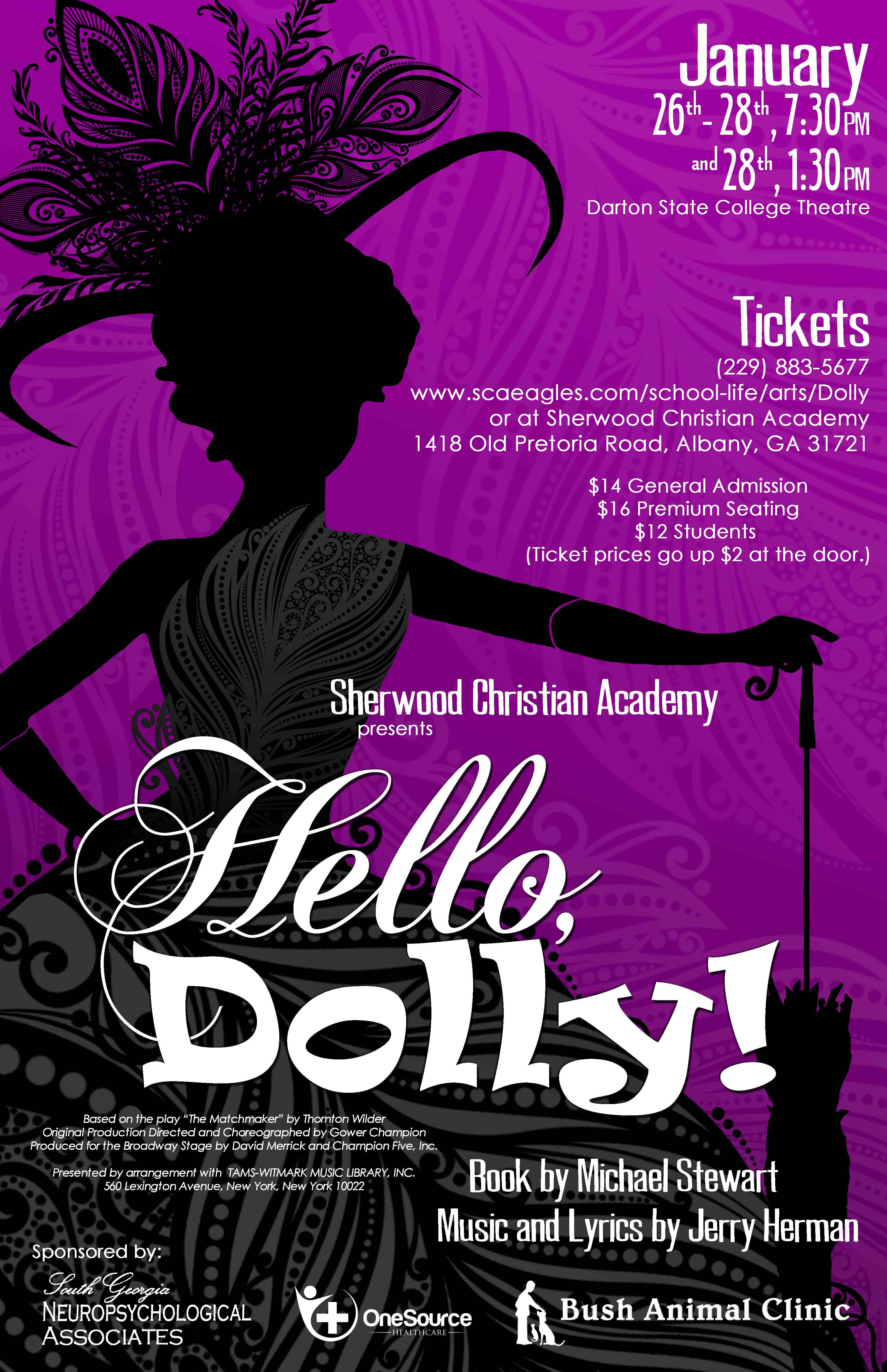 Hello Dolly Sherwood Christian Academy