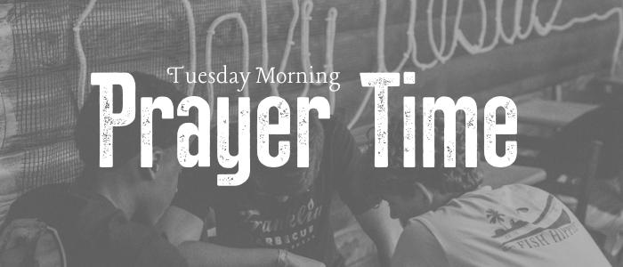 Student prayer time graphic